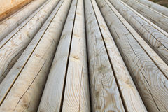 Hölzerne Logs Lizenzfreies Stockbild