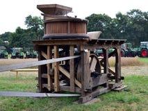 Hölzerne Mais-Mühle Lizenzfreie Stockbilder