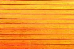 Hölzerne Orange der Wand Stockfotos