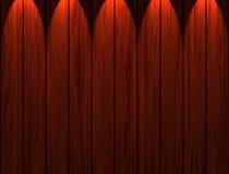 Hölzerne Panels Stockbild