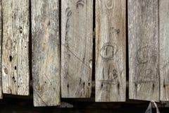 Hölzerne Planken Stockbilder