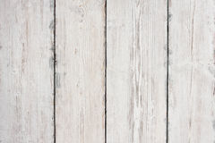 Hölzerne Planken-Beschaffenheit, weißer Holztisch-Hintergrund, Boden Stockfotos