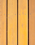 Hölzerne Planken Browns, Zaun Lizenzfreie Stockbilder