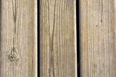 Hölzerne Planken geprägt Lizenzfreie Stockfotografie