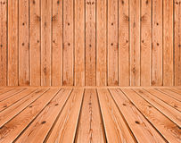 Hölzerne Planken Innen Lizenzfreies Stockfoto