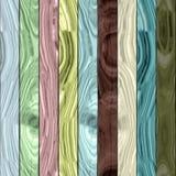 Hölzerne Plankenbeschaffenheit - nahtloses buntes digital übertragenes Fractalmuster stock abbildung