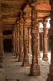 Hölzerne Säulen Stockfotos