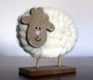 Hölzerne Schafe Stockbild
