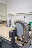 Hölzerne Scherblock Fräser CNC-Maschine Lizenzfreies Stockfoto
