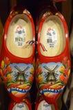 Hölzerne Schuhe von Holland Stockfoto