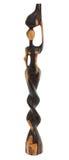 Hölzerne Skulptur-Afrikanerfrau Stockbilder