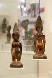 Hölzerne Skulpturen von Afrika lizenzfreies stockbild