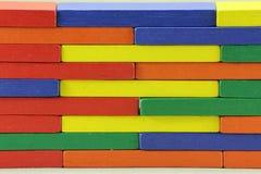 Hölzerne Spielwaren oder Toy Blocks Lizenzfreies Stockfoto