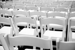 Hölzerne Stühle Stockbild