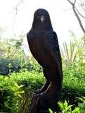 Hölzerne Statue von Eagle lizenzfreies stockfoto