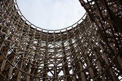 Hölzerne Struktur Stockfoto
