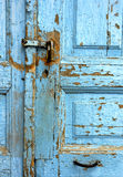 Hölzerne Tür lizenzfreies stockfoto