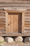 Hölzerne Tür Stockfoto