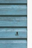 Hölzerne Tür der alten Retro- Art Lizenzfreie Stockbilder