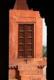 Hölzerne Tür, Indien Lizenzfreie Stockfotos