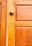Hölzerne Türen. Stockbilder