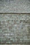 Hölzerne Wände und Decken. Stockfoto