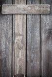 Hölzerne Wand Lizenzfreie Stockbilder
