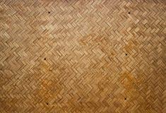 Hölzerne Wand bilden vom Bambus Stockbilder