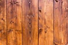 Hölzerne Wandbeschaffenheit für Hintergrundverwendung Stockfotos