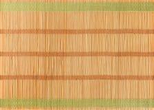 Hölzerner Bambushintergrund Lizenzfreie Stockfotografie