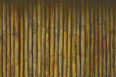 Hölzerner Bambushintergrund stockbild