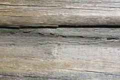 Hölzerner Beschaffenheits-Hintergrund, hölzernes Brett-Körner, alter Boden-gestreifte Planken Stockfotos