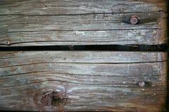 Hölzerner Beschaffenheits-Hintergrund, hölzernes Brett-Körner, alter Boden-gestreifte Planken Stockfoto