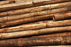 Alter Bambushintergrund lizenzfreies stockbild