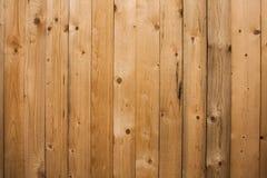 Hölzerner Beschaffenheitshintergrund, Holzverkleidungen schließen oben Strukturiertes Bild des Schmutzes Vertikale Streifen Lizenzfreie Stockfotos