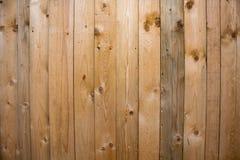 Hölzerner Beschaffenheitshintergrund, Holzverkleidungen schließen oben Strukturiertes Bild des Schmutzes Vertikale Streifen Lizenzfreie Stockbilder