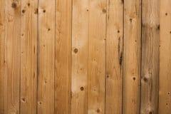Hölzerner Beschaffenheitshintergrund, Holzverkleidungen schließen oben Strukturiertes Bild des Schmutzes Vertikale Streifen Stockbild