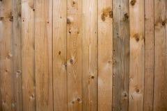 Hölzerner Beschaffenheitshintergrund, Holzverkleidungen schließen oben Strukturiertes Bild des Schmutzes Vertikale Streifen Stockfotografie