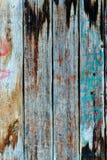 Hölzerner Beschaffenheitshintergrund Stilvolle gealterte Farben Stockbilder