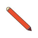 Hölzerner Bleistift trennte Stockfoto