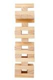 Hölzerner Blockkontrollturm Stockfoto