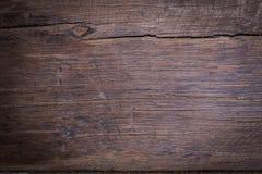 Hölzerner brauner Korngefügehintergrund, Draufsicht des Holzes Stockfotos