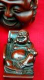 Hölzerner Buddha Stockfoto