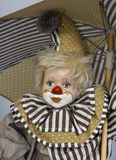 Hölzerner Clown 3 Stockfoto