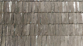 Hölzerner Dach-Hintergrund Stockbild