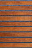 Hölzerner Decking lizenzfreies stockbild