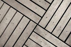 Hölzerner Fußboden Lizenzfreies Stockfoto