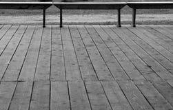 Hölzerner Fußboden. Stockfotografie