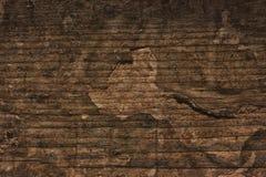Hölzerner gebrochener Schmutz-Hintergrund Stockbild
