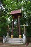 Hölzerner Glockenturm Stockfotografie